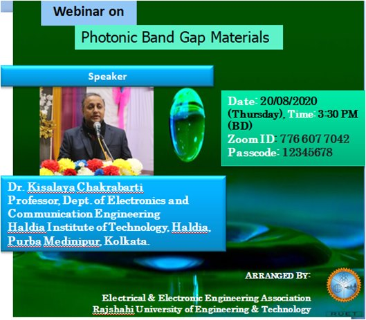 Photonic Band Gap Materials