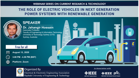 The Role of Electric Vehicles in Next Generation Power Systems with Renewable Generation